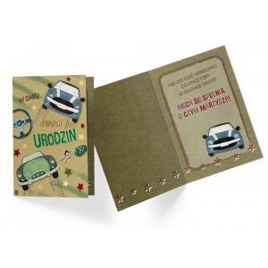 Karnet DK-750 Urodziny (samochody)