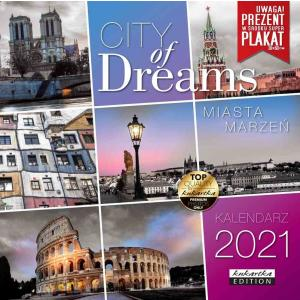 Kalendarz Classic Q CITY OF DREAMS 2021