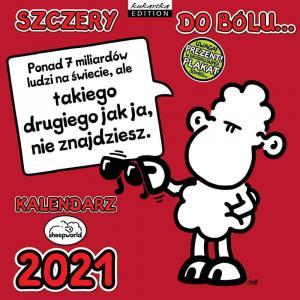 Kalendarz Classic Q SHEEP SZCZERY 2021