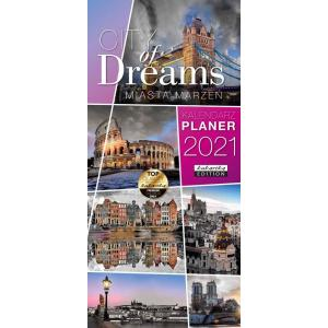 Kalendarz Planer City of Dreams 2021