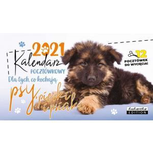 Kalendarz pocztówkowy PSY 2021