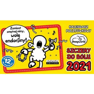 Kalendarz pocztówkowy SHEEPWORLD SZCZERY 2021