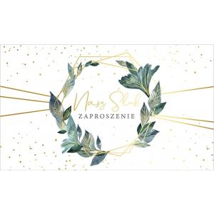 Zaproszenie PMZ-080 Ślub