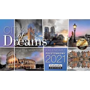 Kalendarz pocztówkowy CITY OF DREAMS 2021