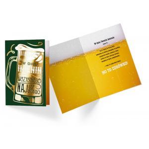 Karnet PP-2169 Imieniny (piwo)