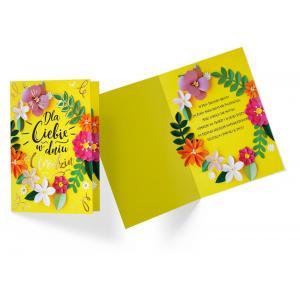 Karnet PP-2172 Urodziny (kwiaty)