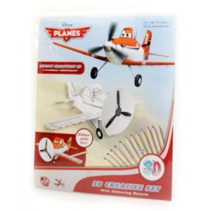 Samoloty. Zestaw kreatywny 3D