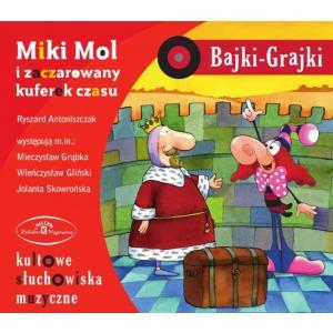Bajki Grajki Miki Mol i zaczarowany kuferek czasu CD /rok nagrania 1987/