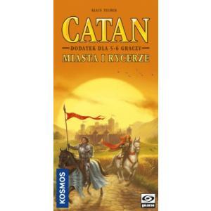Catan: Miasta i Rycerze. Dodatek do Gry Planszowej Dla 5-6 Graczy