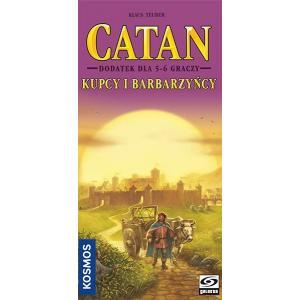 Catan: Kupcy i Barbarzyńcy. Dodatek do Gry Planszowej Dla 5-6 Graczy