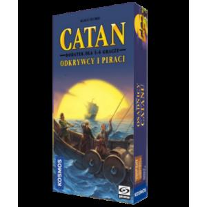 Catan: Odkrywcy i Piraci. Dodatek do Gry Planszowej Dla 5-6 Graczy