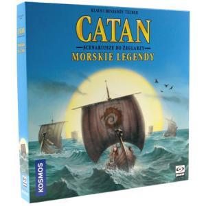 Catan: Morskie Legendy. Dodatek do Gry Planszowej