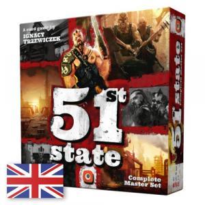 51st State: Complete Master Set. Gra Karciana. Edycja Angielska