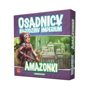 Osadnicy: Narodziny Imperium - Amazonki. Dodatek do Gry Karcianej
