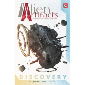 Artefakty Obcych (Alien Artifacts): Odkrycia. Dodatek do Gry Planszowej