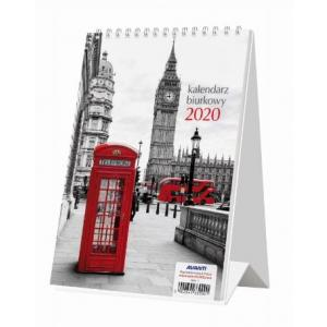 Kalendarz 2020 KBA5 Biurkowy A5