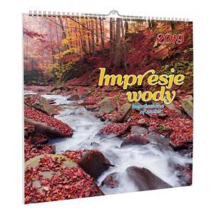 Kalendarz 2020 KD-10 Impresje wody