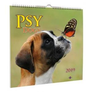 Kalendarz 2019 Psy Avanti