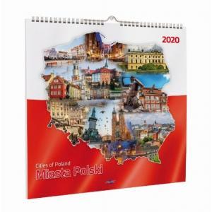 Kalendarz 2020 KD-16 Miasta Polski