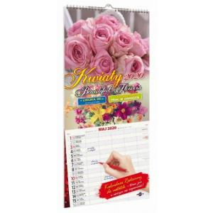 Kalendarz 2020 KPD-1 Kwiaty