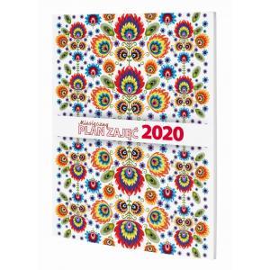 Kalendarz 2020 Miesięczny Plan Zajęć MPZ A5