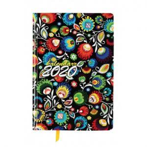 Kalendarz 2020 książkowy A5 Dzienny Ekonomiczny Foto KKA5DF