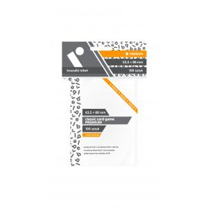 Koszulki na karty Rebel (63,5x88 mm) Classic Card Game Premium 100 sztuk