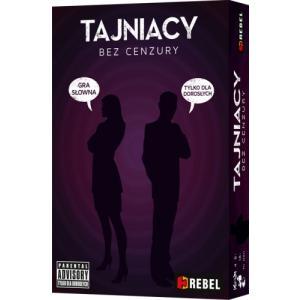 Tajniacy: Bez Cenzury. Gra Planszowa