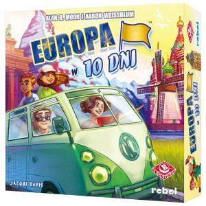 Europa w 10 dni. Gra planszowa