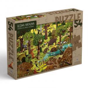 Leśna Kraina. Puzzle. 54 Elementy