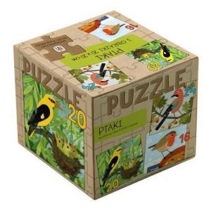 Puzzle 3 w 1 Ptaki