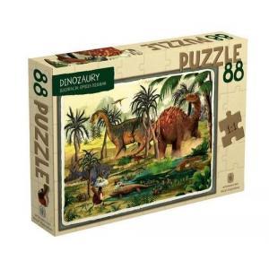 Puzzle Dinozaury 88