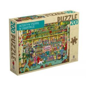 Puzzle Detektyw Pierre w labiryncie 200