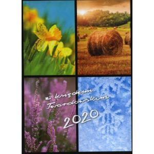 Kalendarz 2020 z księdzem Twardowskim 4 pory roku