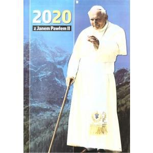 Kalendarz wieloplanszowy 2020 Jan Paweł II