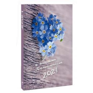 Kalendarz 2021 z księdzem Twardowskim Kwiatek