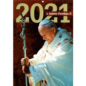 Kalendarz 2021 Wieloplanszowy z Janem Pawłem II