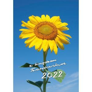 Kalendarz 2022 z księdzem Twardowskim Słonecznik