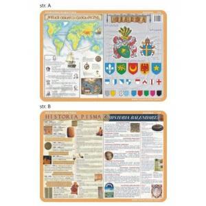 Podkładka edukacyjna 016 Historia. Wielkie Odkrycia Geograficzne, Heraldyka, Pisma i Kalendar