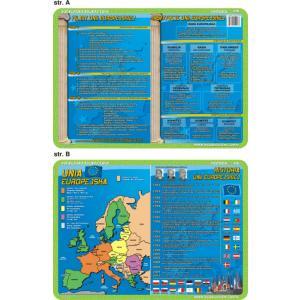 Podkładka edukacyjna 018 Ekologia. Historia. Filary Unii Europejskiej