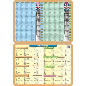Podkładka edukacyjna 040 Język Angielski. Tenses
