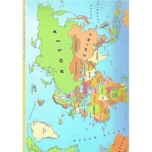 Podkładka edukacyjna 061 Państwa Świata