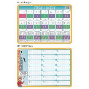Podkładka edukacyjna. ABC 05. Matematyka. Cyfry i liczby