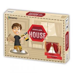 Memory Game. House. Edukacyjna gra pamięciowa /pudełko/
