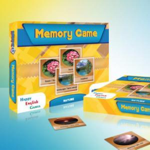 Memory Game. Nature. Edukacyjna gra pamięciowa /pudełko/
