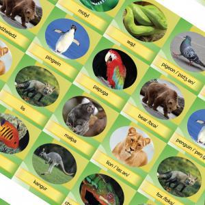 Memory Game. Animals