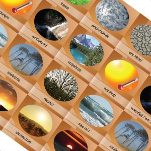 Memory Game. Nature. Edukacyjna gra pamięciowa /folia/ OOP