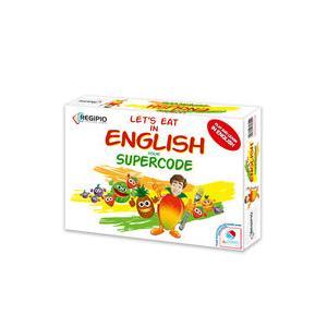 Let's eat in English Gra językowa planszowa