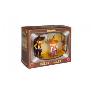 Figurka Bolek i Lolek Kowboj Zestaw /pudełko kartonowe/