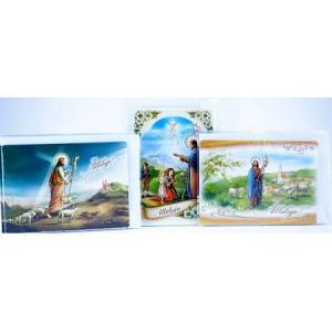 Karta świąteczna C6 z brokatem 210152